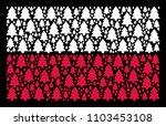 polish state flag concept... | Shutterstock .eps vector #1103453108