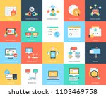 creative internet and security... | Shutterstock .eps vector #1103469758