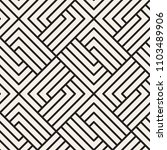 abstract geometric pattern with ... | Shutterstock .eps vector #1103489906