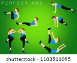 fitness motivation quote | Shutterstock . vector #1103511095