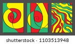 abstract geometric backgrounds... | Shutterstock .eps vector #1103513948