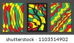 abstract geometric backgrounds...   Shutterstock .eps vector #1103514902