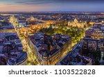 Aerial View Belgrade Downtown Terazije - Fine Art prints