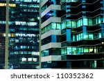 office buildings | Shutterstock . vector #110352362