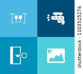 modern  simple vector icon set...   Shutterstock .eps vector #1103525276