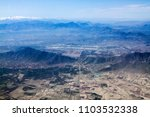 aerial city view  kabul... | Shutterstock . vector #1103532338