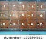 Wooden Post Box With Number...