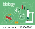 biology science education... | Shutterstock .eps vector #1103545706