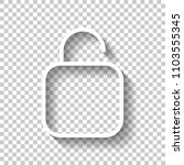 simple unlock. linear  thin...
