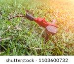 recheck ground wire in... | Shutterstock . vector #1103600732