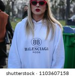 paris  france  march 03 2018 ...   Shutterstock . vector #1103607158