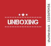 red grunge rubber stamp with... | Shutterstock .eps vector #1103690456