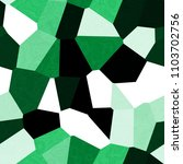 big polygone green black white... | Shutterstock . vector #1103702756
