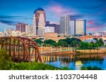 shreveport  louisiana  usa... | Shutterstock . vector #1103704448