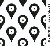 map pointer pattern vector...