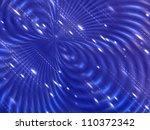abstract dark blue digital... | Shutterstock . vector #110372342