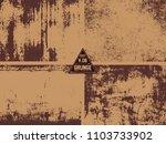 4 metal rust old vector textuer ... | Shutterstock .eps vector #1103733902