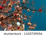 decorations for new year and... | Shutterstock . vector #1103739056