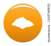 cloudiness icon. simple...   Shutterstock .eps vector #1103740925