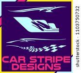 tribal and cool car stripe... | Shutterstock .eps vector #1103750732