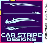 tribal and cool car stripe... | Shutterstock .eps vector #1103750768
