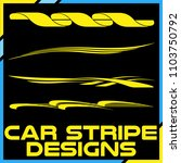 tribal and cool car stripe... | Shutterstock .eps vector #1103750792