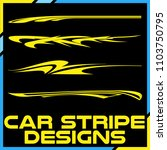 tribal and cool car stripe... | Shutterstock .eps vector #1103750795