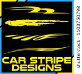 tribal and cool car stripe... | Shutterstock .eps vector #1103750798