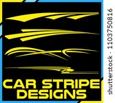 tribal and cool car stripe...   Shutterstock .eps vector #1103750816