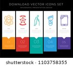 5 vector icons such as core... | Shutterstock .eps vector #1103758355
