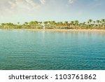 nabq bay   sharm el sheikh in... | Shutterstock . vector #1103761862