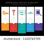 5 vector icons such as loyalty... | Shutterstock .eps vector #1103765705