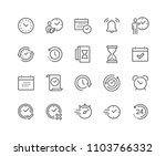 simple set of time related... | Shutterstock .eps vector #1103766332
