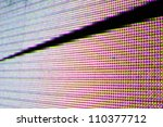 colorful led light abstract... | Shutterstock . vector #110377712