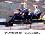 crash test dummy | Shutterstock . vector #110383052
