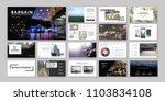 original presentation templates ... | Shutterstock .eps vector #1103834108