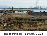 photo of industrial wasteland...   Shutterstock . vector #1103873225