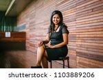 portrait of a confident ...   Shutterstock . vector #1103889206