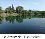 panoramic view of the lake of... | Shutterstock . vector #1103894048