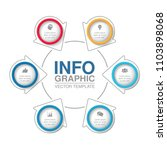 vector infographic template for ... | Shutterstock .eps vector #1103898068