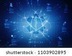 2d illustration medicine... | Shutterstock . vector #1103902895