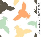 seamless vector pattern with... | Shutterstock .eps vector #1103911802