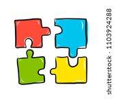 vector doodle outline... | Shutterstock .eps vector #1103924288