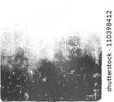 grunge gray background | Shutterstock . vector #110398412
