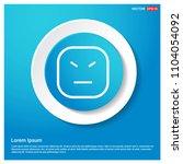 smiley icon  face icon abstract ... | Shutterstock .eps vector #1104054092