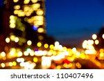 Evening Traffic City Lights Motion - Fine Art prints
