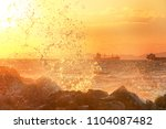 iskenderun is located on the... | Shutterstock . vector #1104087482