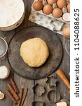 layout tools and ingredients... | Shutterstock . vector #1104088625