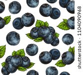beautiful vector seamless... | Shutterstock .eps vector #1104090968