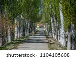 gate of military sanatorium in... | Shutterstock . vector #1104105608